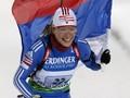 Пхенчхан-2009: Ольга Зайцева побеждает в масс-старте, Вита Семеренко - 4-я