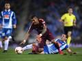 У игрока Барселоны подозревают перелом правой ноги