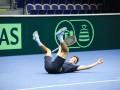 Как украинские теннисисты на битву со шведами настраиваются (ФОТО)