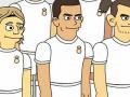 Месси, Роналду, Ибрагимовича и других звезд изобразили в стиле Симпсонов