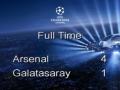 Арсенал - Галатасарай - 4:1. Видео голов матча Лиги чемпиоов