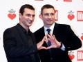 Братья Кличко собрали деньги на лечение украинских онкобольных детей