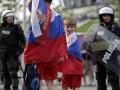 Фотогалерея: Горячий день. Беспорядки перед матчем Польша – Россия