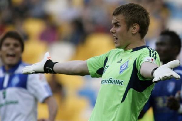 Максим Коваль (Динамо) - 13 матчей, из них 6