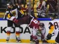 Латвия – Германия 3:1 видео шайб и обзор матча ЧМ-2018 по хоккею