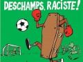 Charlie Hebdo нарисовала карикатуру с терактом во время Евро