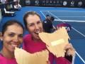 Украинская теннисистка Савчук стала победительницей турнира в Хобарте