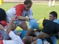 Фотогалерея: Украинские регбисты победили поляков