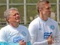 Маркевич сыграл в футбол с пограничниками