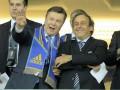 Янукович поздравил сборную Украины с победой