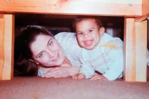 Дэвид Хэй и его мама / fightnews.ru