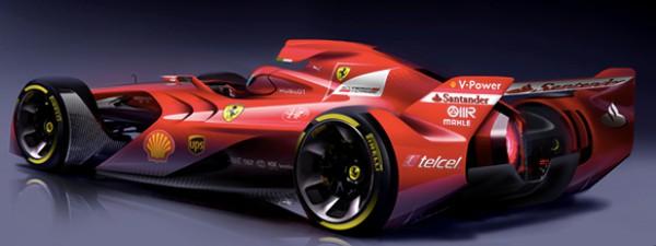 Концепт гоночного болида Формулы-1 от Ferrari