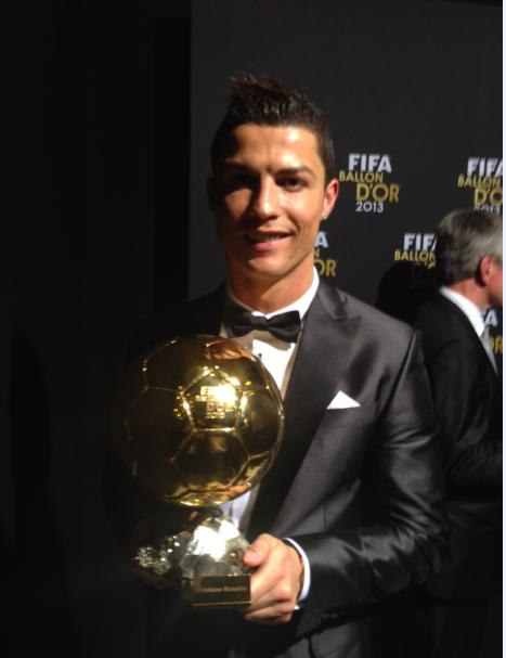 Криштиану Роналду получил свой второй Золотой мяч