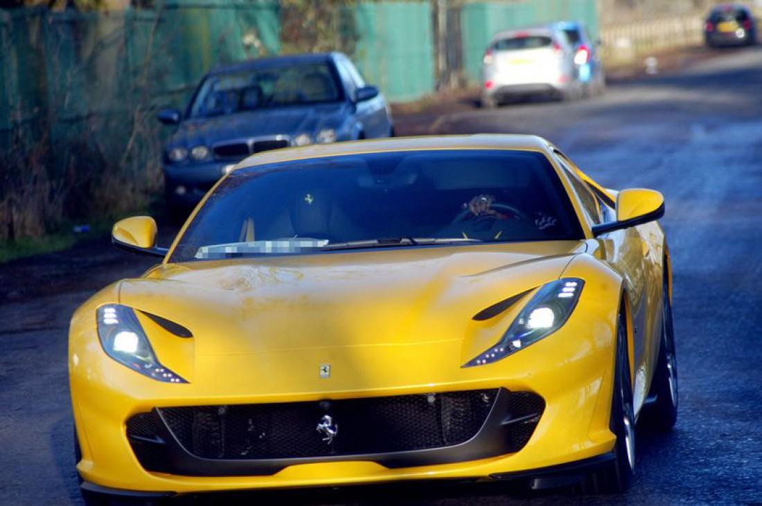Новая Ferrari Поля Погба