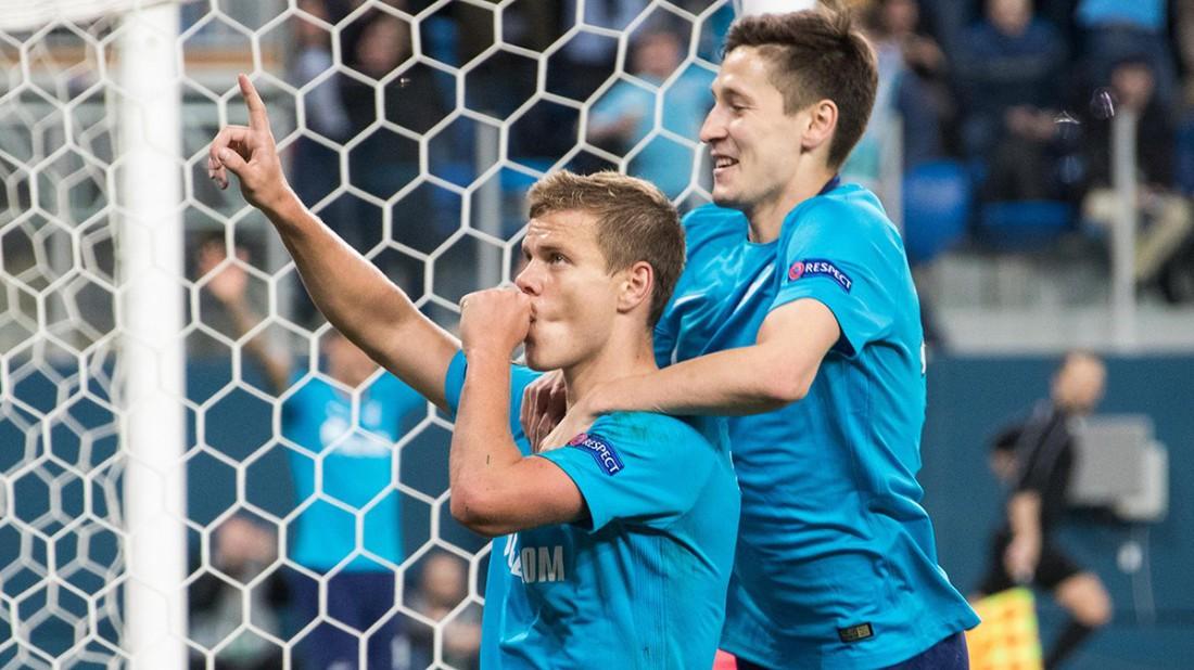 Зенит обыграл Селтик и прошел в 1/8 финала Лиги Европы