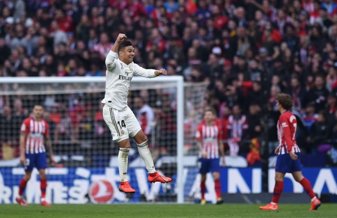 Каземиро забил роскошный гол в ворота Атлетико