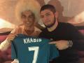 Нурмагомедов побывал в Киеве на финале Лиги чемпионов