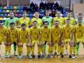 Сборная Украины по футзалу проведет два домашних матча с чемпионом Европы
