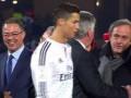 Криштиану Роналду намеренно не пожал руку президенту UEFA