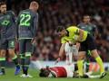 Форвард Арсенала перенес уже вторую операцию после страшной травмы в матче ЛЕ
