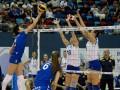 Украина в упорной борьбе уступила России на чемпионате Европы по волейболу