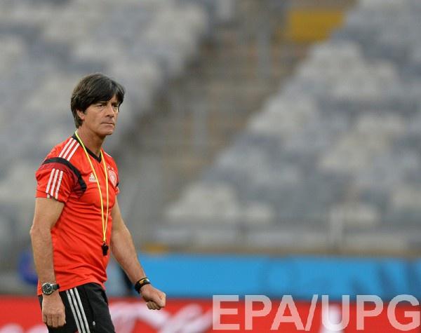 Тренер сборной Германии Йоахим Лев