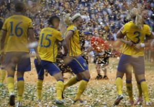 Швеция завоевала бронзу женского Чемпионата мира по футболу