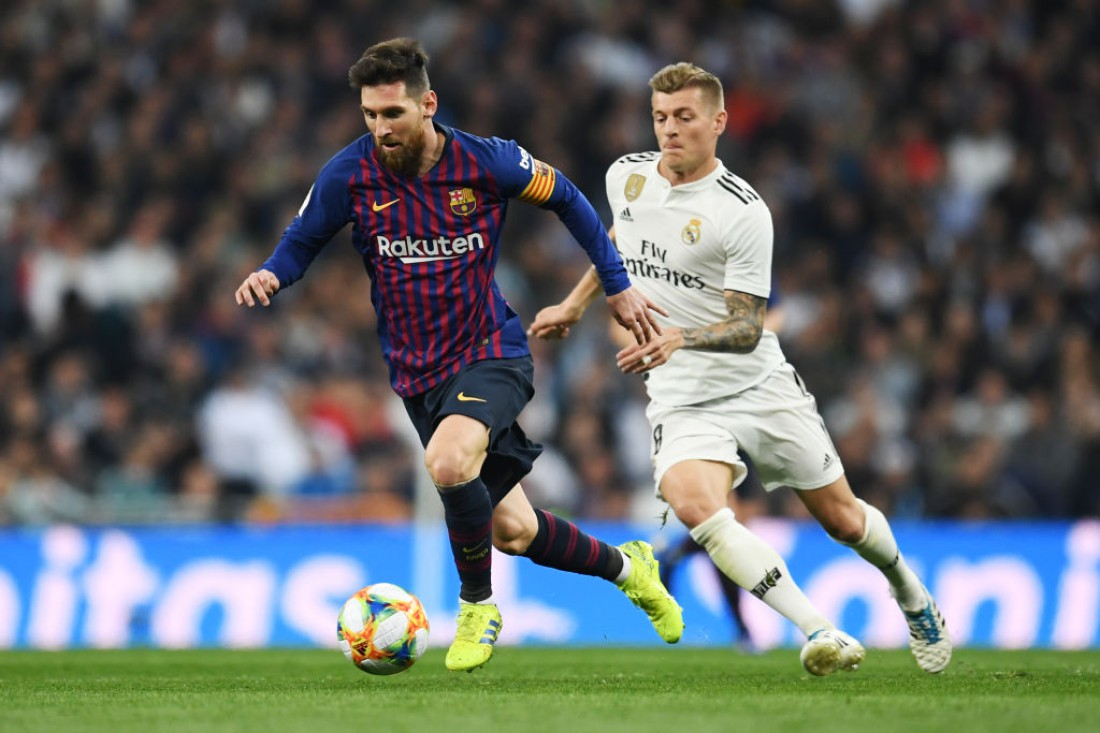 Реал - Барселона: видео голов и обзор матча