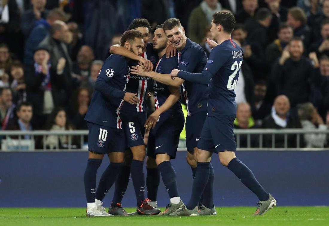 Игроки ПСЖ восстановили паритет в матче
