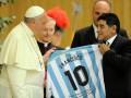 Папа Франциск: Марадона был поэтом на поле