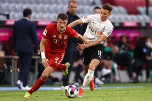 Бавария отметила чемпионство крупной победой над Боруссией Менхенгладбах