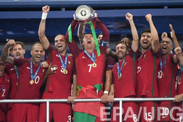 Португалия - победитель Евро-2016