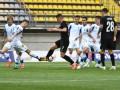 Матч Заря - Динамо был ненадолго прерван из-за погодных условий
