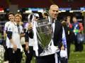 Зидан - лучший тренер в истории Лиги чемпионов по версии Squawka