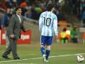 Марадона радовался как сумасшедший, когда дисквалификацию Месси отменили