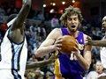 NBA: Лейкерс побеждает Мемфис