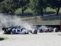 Вторую подряд гонку Формулы-1 остановили красными флагами