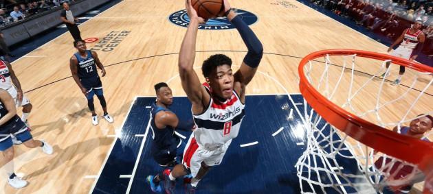 НБА: Вашингтон разгромил Миннесоту, Детройт уступил Шарлотт