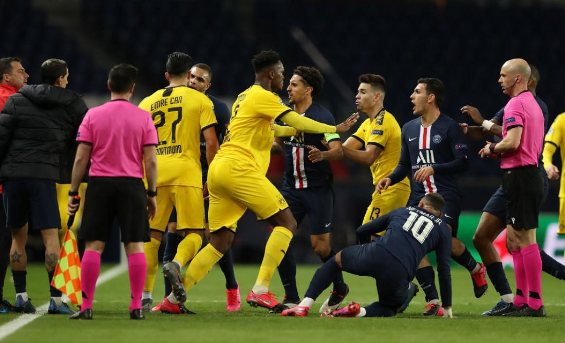 ПСЖ вышел в 1/4 финала Лиги чемпионов