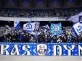 Фанаты Динамо камнями забросали автобус с болельщиками АЕКа перед матчем Лиги Европы
