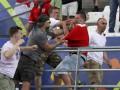 Англия - Россия: Видео, как российские болельщики набросились на англичан после матча