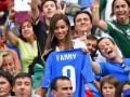 Знакомые лица на ЧМ-2014: Подружки итальянцев и предложение принцу Гарри (фото)