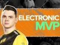 Electronic получил награду MVP на ICE London Challenge 2020