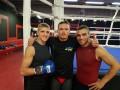 Боксер Украинских атаманов помагает Усику готовиться к Гловацки