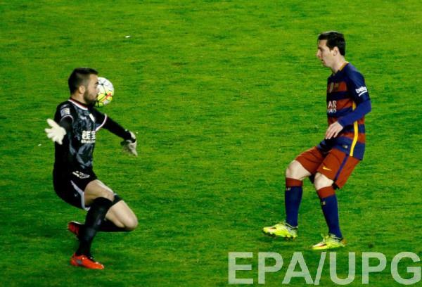Месси забил Барселоне трижды