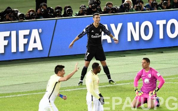 Роналду забил 100-й гол в интернациональных клубных турнирах