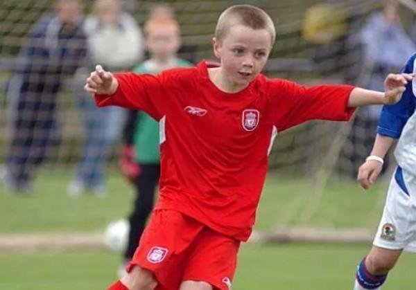 Джордан Росситер в составе команды Ливерпуля (до 6 лет)