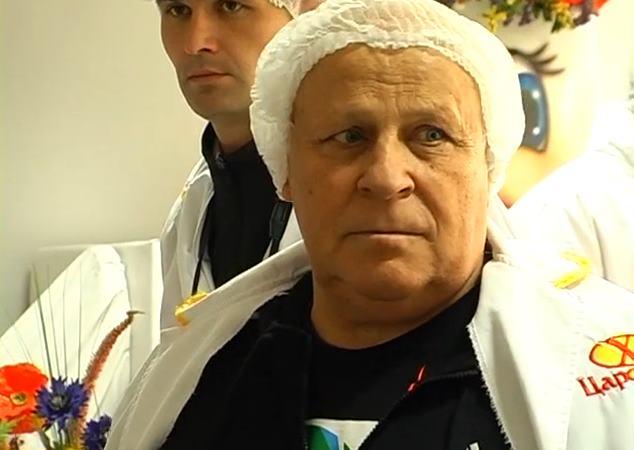 Виталий Кварцяный посетил хлебзавод
