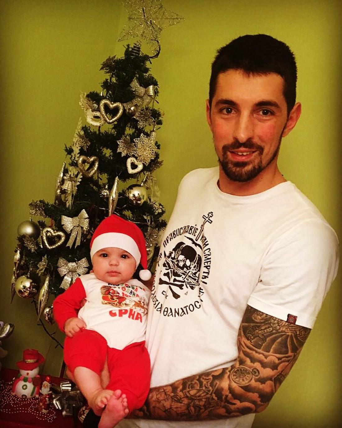 Новак Бошкович с дочерью