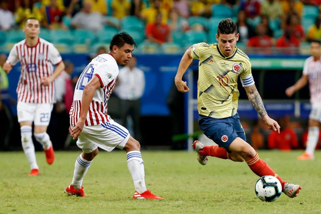 Колумбия победила Парагвай